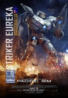 Pacific Rim Striker Eureka
