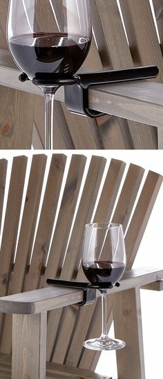 Clip On Wine Holder Hook - Fits On Any Chair #brilliant #need