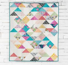 Sacramento Quilt Kit by Carl Hentsch featuring FreeSpirit CaliMod by Joel Dewberry Fabric | Craftsy