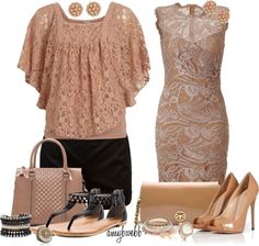 """""""Lace Day Or Night"""" by amybwebb ❤ liked on Polyvore"""