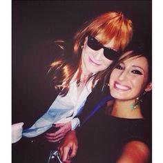 Patti Scialfa and Jessica Springsteen RRHF