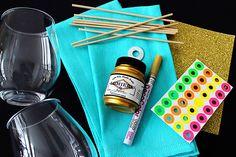 3 Easy Ways to Make Pretty Polka Dot Decor via Brit + Co.
