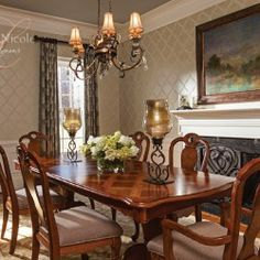 Dining Room Interior Design charlotte nc