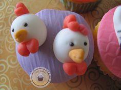 Cupcakes Top Cakes - Arca de Noé https://www.facebook.com/danielletopcakes