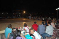 Seating at desert safari dubai