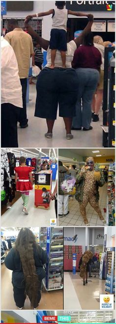 of the Most Weird People Ever Spotted in Walmart Wtf Funny, Funny Facts, Weird Facts, Funny Memes, Hilarious, Funny Sayings, Walmart Pictures, Funny People Pictures, Funny Photos