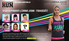 Haluatko päästä mukaan Extreme Run tapahtumaan osaksi Lorna Jane tiimiä? Takuulla mielenkiintoinen päivä palkintoineen luvassa, kts.tiedot ohessa ja ei muuta kuin hakemuskirjettä laatimaan Astalle.