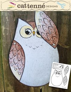 Cheeky Owl from CatTenneDesigns on TeachersNotebook.com -  (1 page)