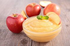 You can substitute applesauce for oil in a cake and other baking recipes to lower their fat content. Applesauce keeps food moist without compromising flavor. Soft Foods To Eat, Baby Food Recipes, Cooking Recipes, Food Baby, Cooking Food, Diabetic Recipes, Snack Recipes, Easy To Digest Foods, Baby First Foods