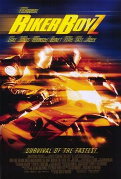 "Biker Boyz 11x17 Movie Poster (2003). CAST: Laurence Fishburne, Derek Luke, Orlando Jones, Djimon Hounsou, Lisa Bonet, Brendan Fehr, Larenz Tate, Kid Rock, Rick Gonzalez; DIRECTED BY: Reggie Rock;  Features:    11"" x 17""   Packaged with care - ships in sturdy reinforced packing material   Made in the USA  SHIPS IN 1-3 DAYS"
