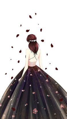 Cartoon Kunst, Cartoon Art, Cute Girl Drawing, Cute Drawings, Chibi Manga, Image Pinterest, Arte Fashion, Lovely Girl Image, Cute Girl Wallpaper