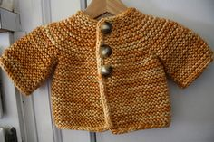 Ravelry: knittingma's And maybe another. Pattern Little Garter Cardi