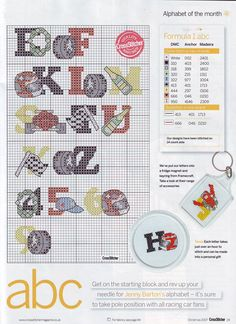 alfabeto Fórmula 1 (2) -