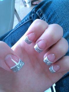 Acrylic Glitter Tips
