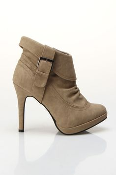 Cuff Bootie..... If only I wasn't 5'9""