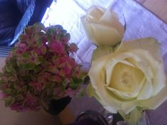 Roses and hydrangeas #uteschlegelflowers