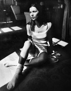 Kate Garner's Early Photos of Kate Moss on View in Paris