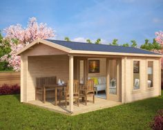 Gartenhaus mit Terrasse Nora E
