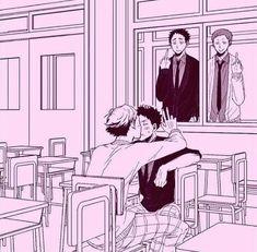 Oikawa Tooru x Iwaizumi Hajime / Haikyuu! Kagehina, Oikawa X Iwaizumi, Iwaoi, Bokuaka, Haikyuu Funny, Haikyuu Ships, Haikyuu Fanart, Haikyuu Volleyball, Volleyball Anime