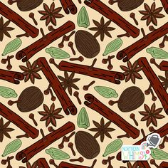 A closer look at one of the repeating patterns from Northern Whimsy's Christmas Spice collection. Star Anise, Repeating Patterns, Surface Pattern, Coffee Cup, Digital Scrapbooking, Closer, Spices, Stationery, Kids Rugs