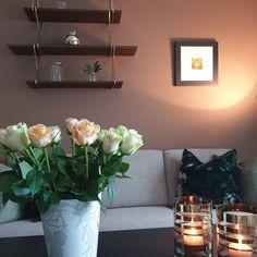 Få inspirasjon fra 10 hjem malt i Jotun Rustikk Terracotta Malta, Wall Lights, Lighting, Home Decor, Tutorials, Malt Beer, Appliques, Decoration Home, Room Decor