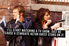 stargate confessions - or in the case of Sanctuary, is the main character