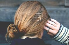 20 Tips para usar los pasadores para el cabello. hair pins hacks. hair pins tricks. pasadores en diagonal
