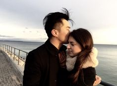 AMWF Kiss (Married Taiwanese Polish International Couple) Shared by lewisliu