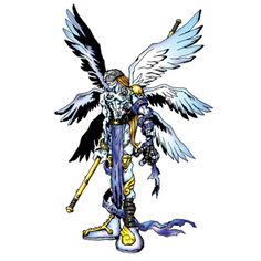 Angemon - Champion level Angel digimon
