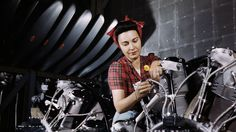 Alfred T. Palmer, a photographer for the US Office of War Information, Photos of the Women Workers of WWII
