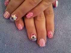 Pinstripes, cupcakes and polka dots