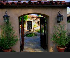 Montecito home designer specializing in Spanish, Hacienda and Old world home interiors, exterior and landscape design