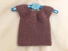how to crochet dress for girl free pattern for beginer - YouTube
