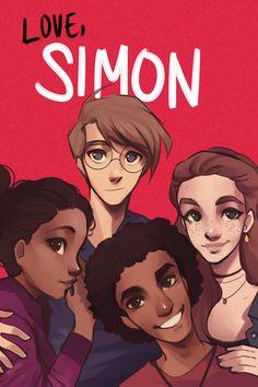 Amor Simon, Love Simon, Simon Spier, Becky Albertalli, Ur Beautiful, Nick Robinson, Rainbow Rowell, Handsome Anime, Fanart