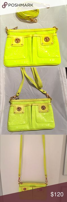 Marc by Marc Jacobs crossbody bag Neon yellow, perfect condition Marc By Marc Jacobs Bags Crossbody Bags
