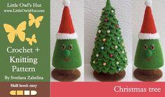Christmas Tree crochet   knitting - via @Craftsy