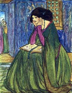 Emma Florence Harrison ( 1877–1955) For some reason, this reminds me of my friend @Christy Bojarski :)