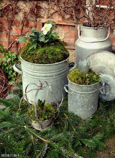 Thrilling About Container Gardening Ideas. Amazing All About Container Gardening Ideas. Diy Garden Projects, Diy Garden Decor, Garden Art, Farmhouse Garden, Garden Cottage, Garden Planters, Planter Pots, Pot Jardin, Garden Types
