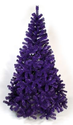 Christmas Trees Fancy something a bit different this Try a bright purple tree!Fancy something a bit different this Try a bright purple tree! Purple Trees, Bright Purple, Shades Of Purple, Magenta, Pink Purple, Purple Christmas Tree, Xmas Tree, Christmas Tree Decorations, Christmas Trees