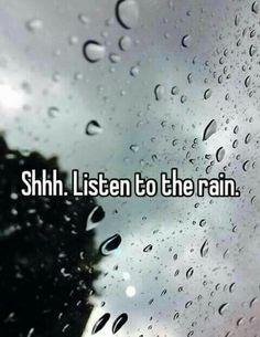 There's two seasons cold rain and warm rain. [Irainydays.]