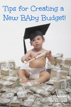 If you are thinking about getting pregnant or already are, now is the time to think about a budget. #baby