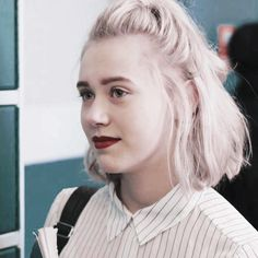Skam Noora And William, Blonde Color, Hair Color, Noora Skam Style, Hair Inspo, Hair Inspiration, Celebs, Celebrities, Famous Women