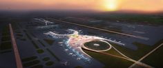 New International Airport For Mexico City By Foster + Partners And FR-EE - http://www.creativeideasblog.com/decor-ideas/new-international-airport-for-mexico-city-by-foster-partners-and-fr-ee.html