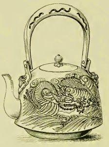 Tetsubin : Bouilloire japonaise en fonte