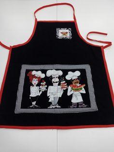 Nuevo delantal en el que se uso el panel de cocinero disponible en web www.jaragarimo.es