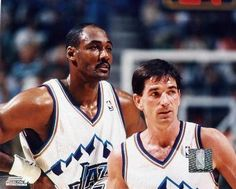 Stockton and Malone. The very definition of effective teamwork. Best partnership so far.