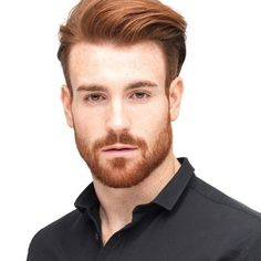 Hair Styles 2018 Men's hairstyles 2018 - the latest trends at a glance Mens Hairstyles 2016, Trending Hairstyles For Men, Hairstyles Haircuts, Ginger Men, Ginger Beard, Ginger Hair, Pompadour Men, Pompadour Hairstyle, Hairstyle Men