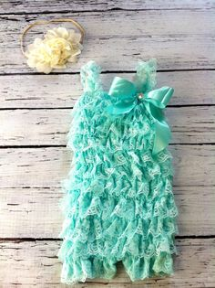 Hey, I found this really awesome Etsy listing at http://www.etsy.com/listing/152916241/petti-lace-romper-in-aqua-rhinestone