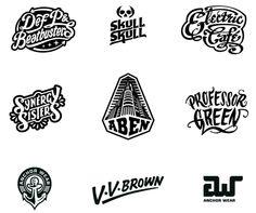 Various Logo designs on Behance