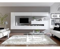 living rooms 35 Elegant Contemporary Living Room Shelf Design To Make Your Interior Look Luxurious Ikea Living Room, Living Room Shelves, Living Room White, Living Room Storage, Cozy Living Rooms, Living Room Modern, Living Room Furniture, Wall Storage, Modern Wall